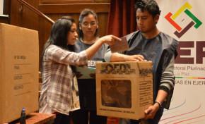 TED La Paz capacita a Guías Electorales