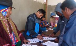 Capacitaciones y difusión del Referendo Constitucional 2016 se realizaron en lenguas originarias
