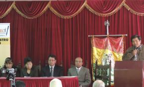 Cuatro municipios de Oruro fueron declarados libres de indocumentados