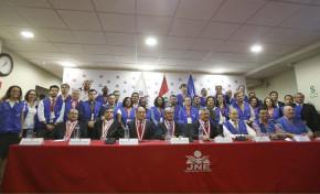 Por invitación de UNASUR - Vocales del TSE acompañaron proceso electoral en Perú