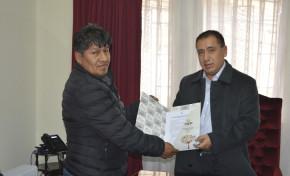 Tribunal Electoral Departamental de La Paz y DNI firman convenio interinstitucional