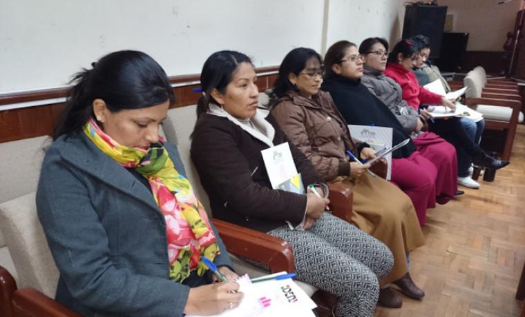 Servidoras y servidores públicos del TED Tarija.