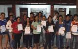 El TED-Beni entregó credenciales al gobierno estudiantil del Centro Alternativo de Educación Santísima Trinidad