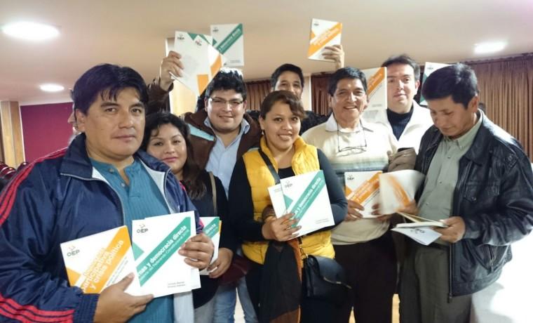 3. Presentación de las publicaciones en Tarija.