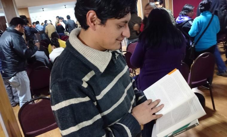 4. Presentación de las publicaciones en Tarija.