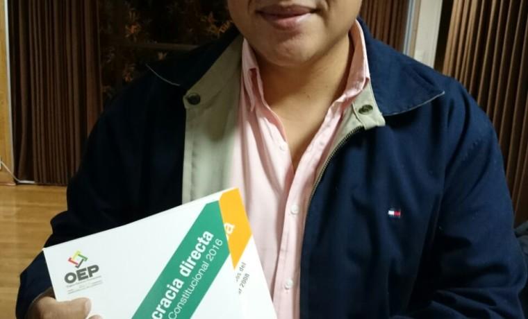 6. Presentación de las publicaciones en Tarija.