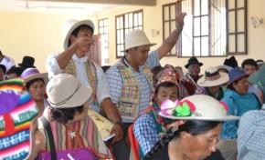 Autonomías Indígenas se reúnen para analizar la implementación de sus autogobiernos