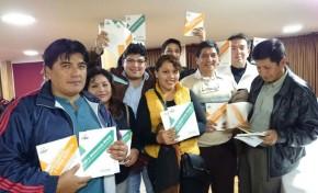 Gran aceptación de libros sobre democracia en el interior del país. Se vienen presentaciones en La Paz y Santa Cruz