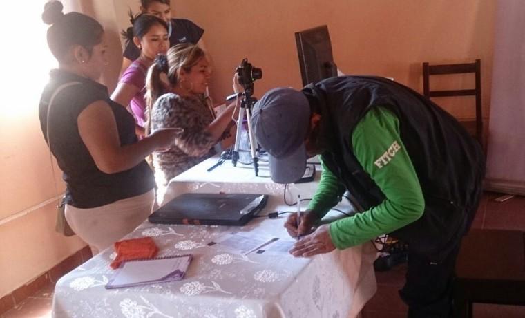 1. Inicio de empadronamiento en la Región Autónoma del Gran Chaco