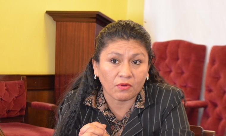 1. La presidenta de la ACOBOL, Zulena Serrudo.