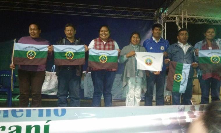 15. Las y los representantes de Parapitiguasu a los tres órganos del Autogobierno de Charagua.