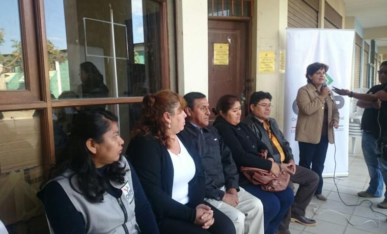 2. Cochabamba. Inauguración del registro en padrón electoral en el municipio de Vinto.