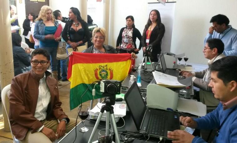 3. Los primeros registros recepcionados en oficinas del SERECI Cochabamba.