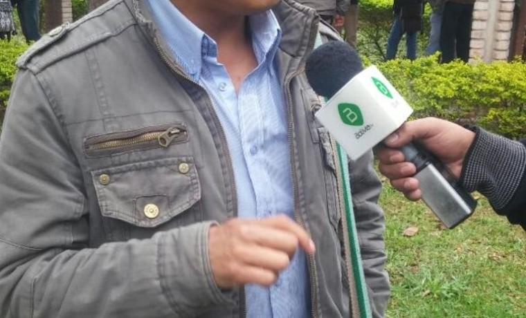 8. El capitán grande, Ronald Andres Caraica, en entrevista con Bolivia TV.