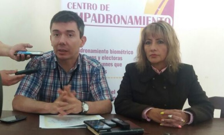 Inauguración del empadronamiento en el municipio de Caraparí – Provincia Gran Chaco