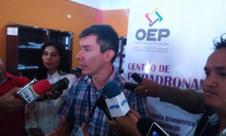 Inauguración del empadronamiento en el municipio de Yacuiba – Provincia Gran Chaco