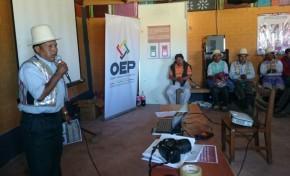 TED Cochabamba presenta la papeleta de sufragio en Raqayapampa