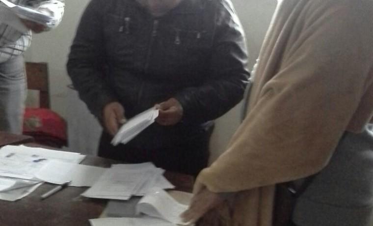 3. El conteo de votos en Charagua Estación.