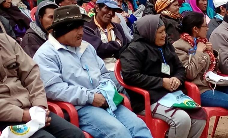 3.  Las y los delegados de las 29 comunidades que integran la zona del Alto Isoso elegirán a sus autoridades.