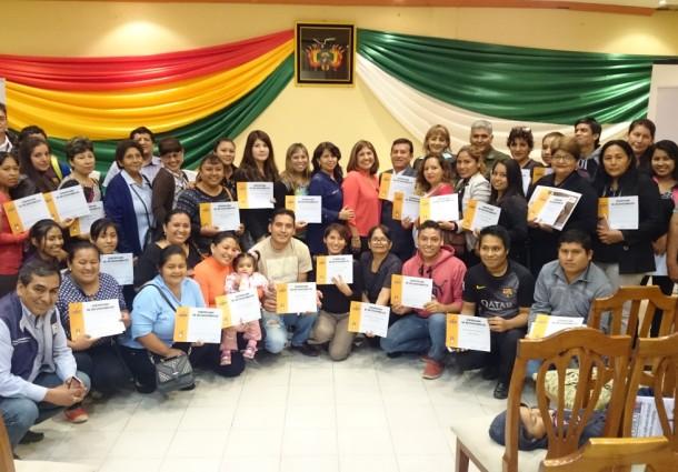 TED Tarija reconoció a más de 100 personas por su colaboración en el Referendo Autonómico del Gran Chaco