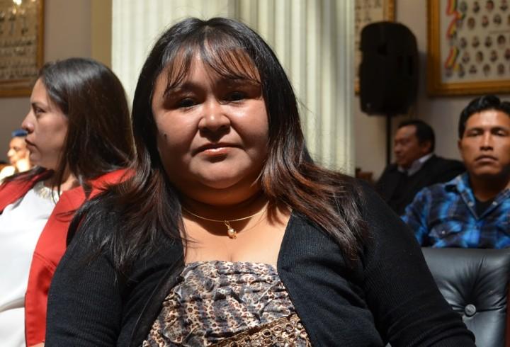 Vocal TED Tarija, Zulma Sánchez.