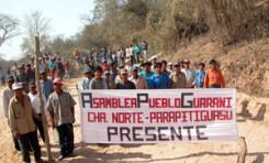 La reconstitución del autogobierno y del territorio fueron las primeras reivindicaciones del pueblo guaraní