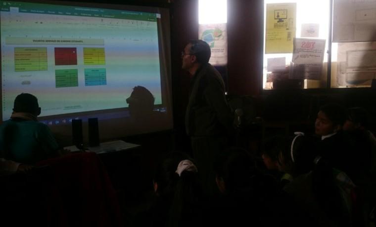3. Elección en la unidad educativa Luis Honorato Salazar