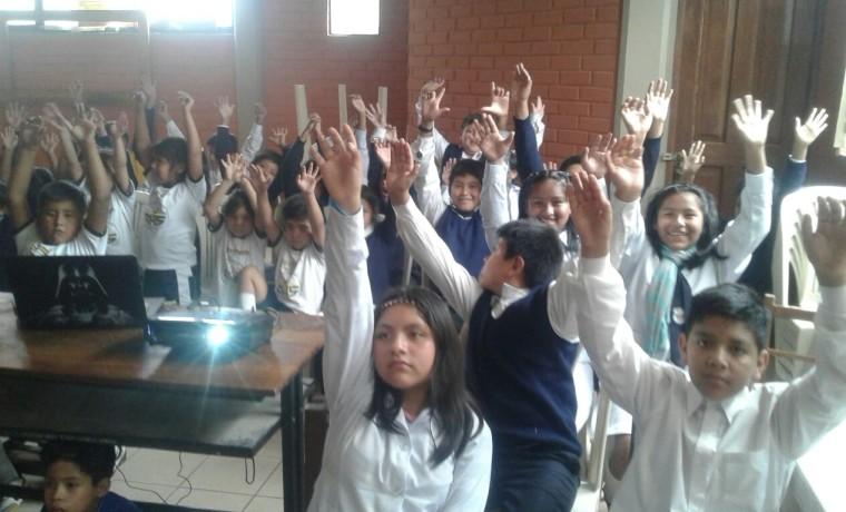 Elección en la unidad educativa Valle Hermoso. 5