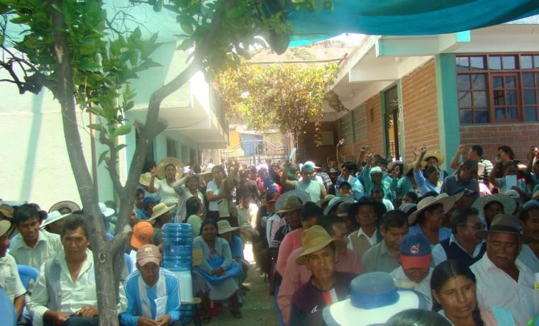 Elección en la Cooperativa Capinota.1