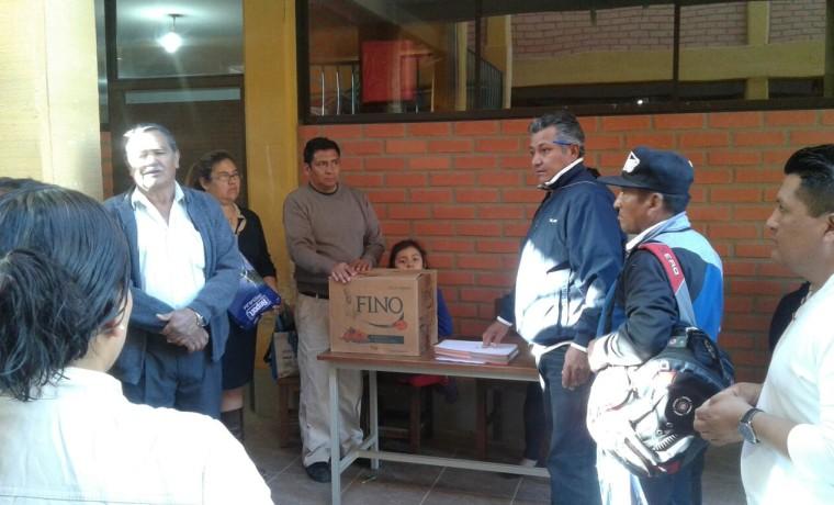 Elección en la Cooperativa Chacacollo Oeste.2
