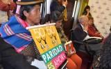 Oruro: mujeres autoridades electas piden mayor coordinación entre instituciones para combatir el acoso y violencia política