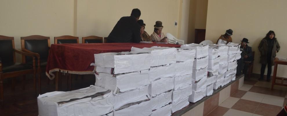 Los 9.000 ejemplares de distribuirán a las comunidades del municipio