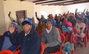 Uru Chipaya aprobó su reglamento para la elección de sus autoridades indígenas