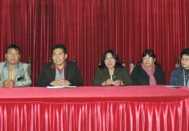 En Oruro no prosperó ninguna solicitud de revocatoria