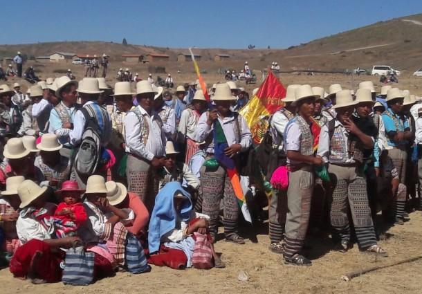 El OEP y representantes de las AIOC evaluarán la supervisión a los procesos de conformación de los gobiernos indígenas