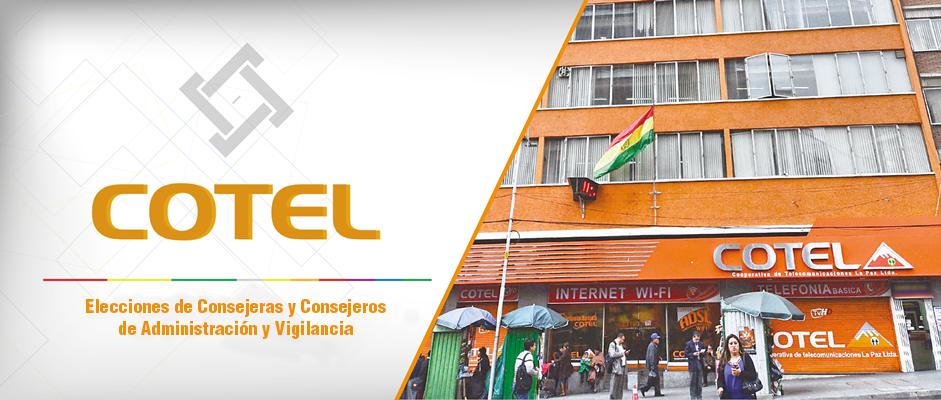 El TED La Paz garantizará una elección transparente y eficaz en la elección de COTEL