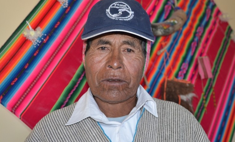 1. Simón Flores- tantiñi layminaka territorial del ayllu Aranzaya.
