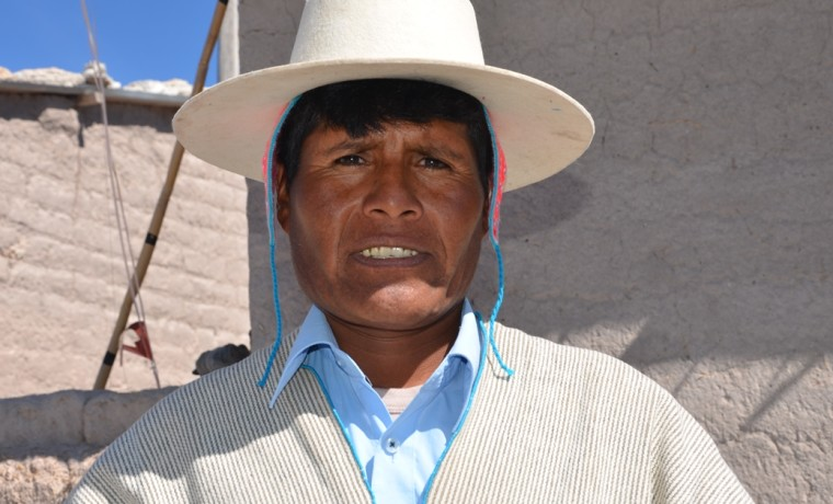 2. Julián Mamani – tantiñi layminaka territorial del ayllu Manazaya.