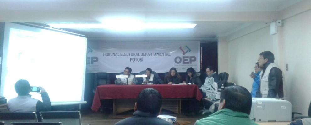 Sala Plena TED Potosí