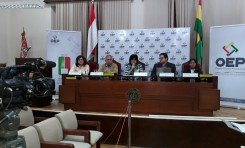 Las salas plenas de siete Tribunales Electorales Departamentales inician sesión permanente hasta concluir el cómputo del Referendo