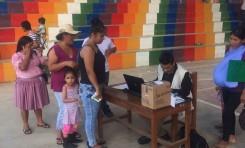 TED Cochabamba destaca el comportamiento de la población en esta media jornada del referendo