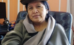 """Vocal Maria Eugenia Choque: """"queremos garantizar el ejercicio de la Democracia Intercultural a partir del uso de los idiomas originarios"""""""