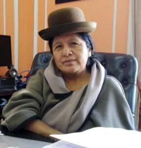 María Eugenia Choque, vocal del TSE