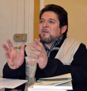 Jose Luis Exeni, vicepresidente del TSE