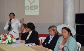 Autoridades mujeres de Yapacaní se capacitan en democracia paritaria sin violencia ni acoso político