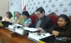 Bolivia vivió su tercer referendo autonómico con un 71% de participación ciudadana