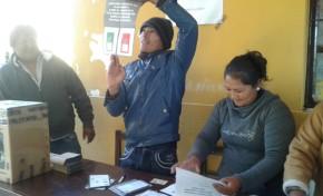Sala Plena del Tribunal Supremo Electoral inauguró en Uriondo la jornada del Referendo en 14 municipios
