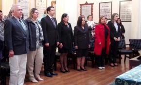 Cinco vocales asumen sus funciones y conforman Sala Plena del Tribunal Electoral del Beni