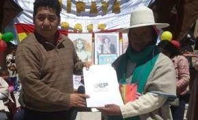 Uru Chipaya recibe la Resolución del TED Oruro que da paso a la acreditación de sus autoridades electas