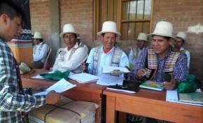Raqaypampa recibe la resolución que da paso a la acreditación de sus autoridades electas
